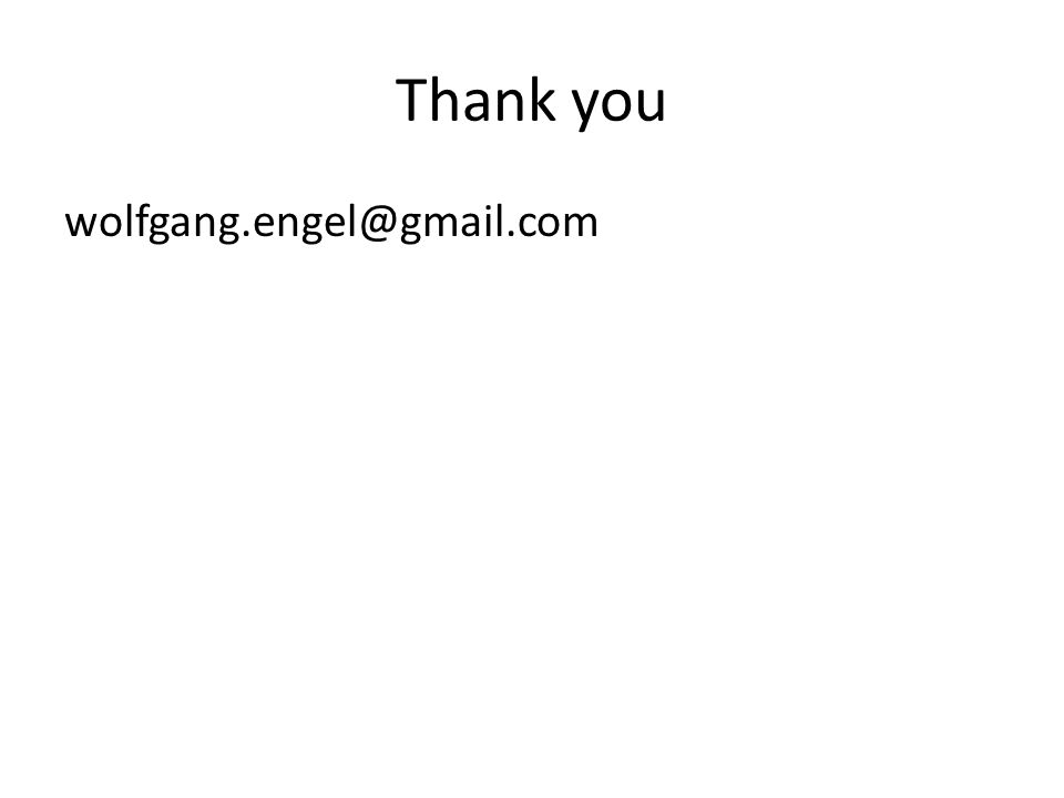 Thank you wolfgang.engel@gmail.com