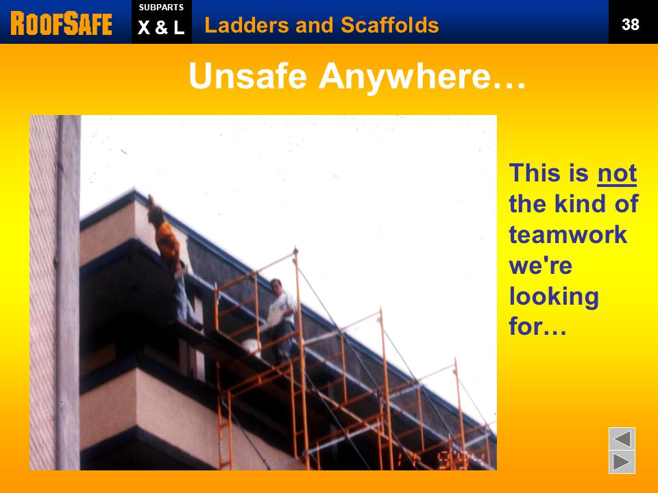 Unsafe Anywhere… This is not the kind of teamwork we re looking for…