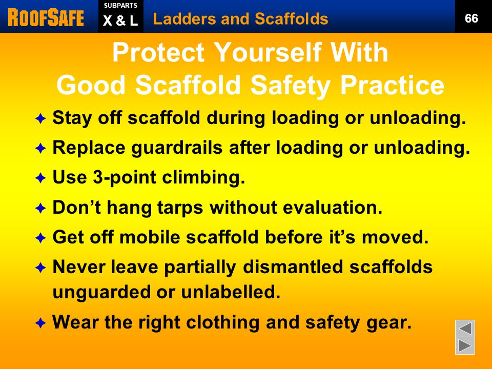 Protect Yourself With Good Scaffold Safety Practice