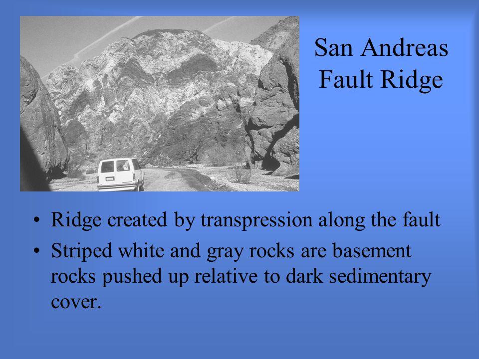 San Andreas Fault Ridge