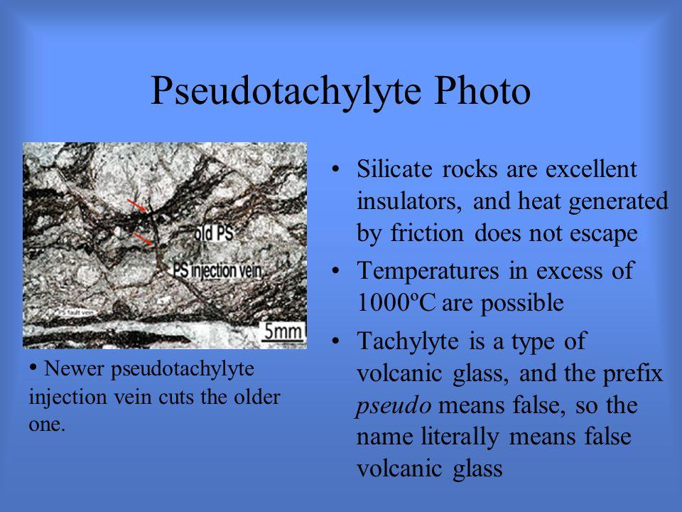 Pseudotachylyte Photo