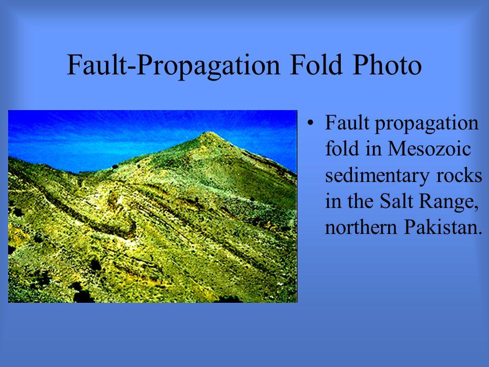 Fault-Propagation Fold Photo