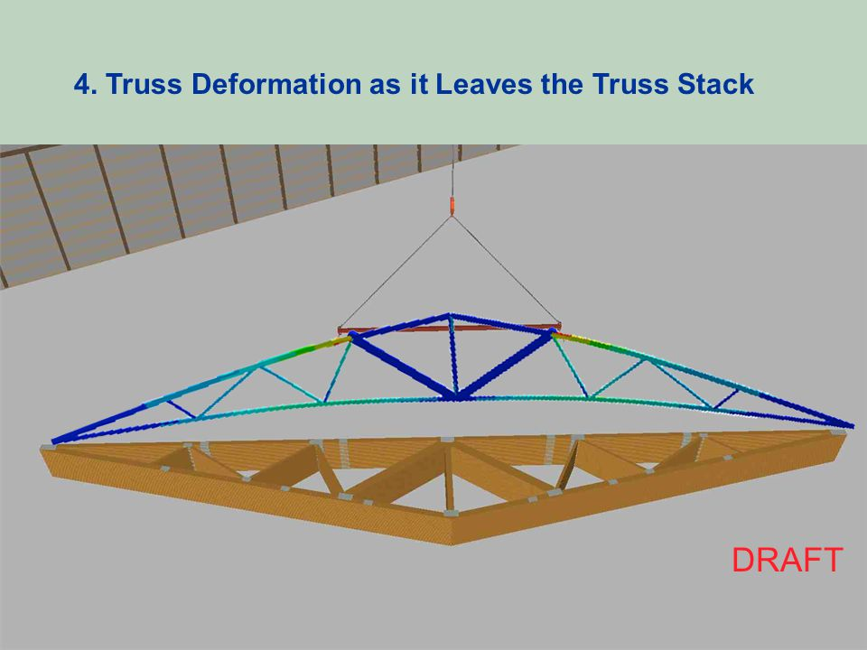 4. Truss Deformation as it Leaves the Truss Stack