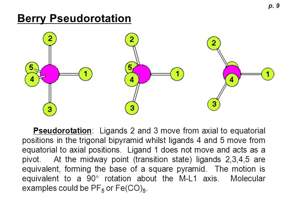 p. 9 Berry Pseudorotation.
