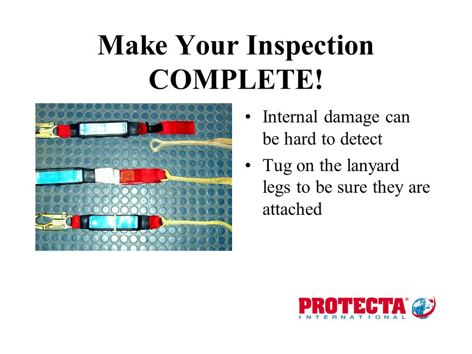 Make Your Inspection COMPLETE!