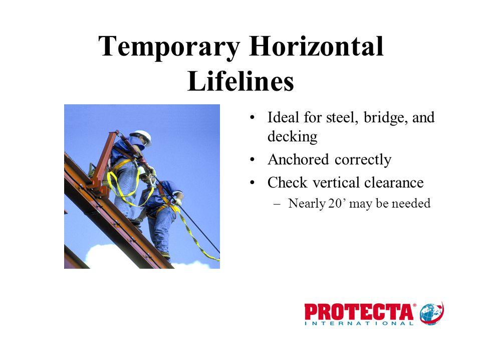 Temporary Horizontal Lifelines