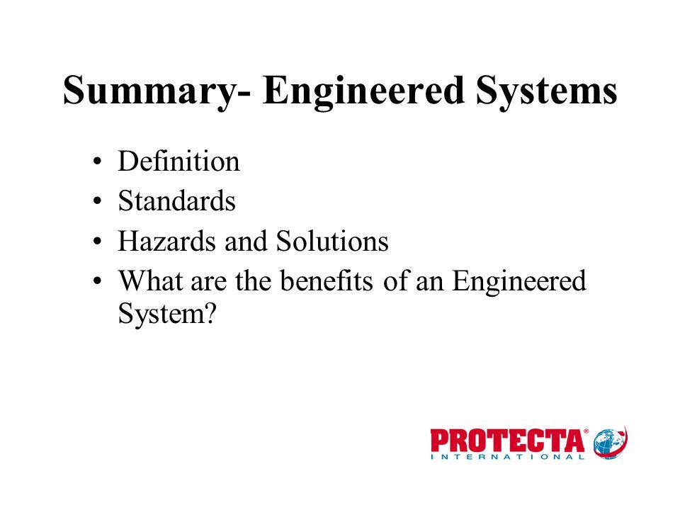 Summary- Engineered Systems