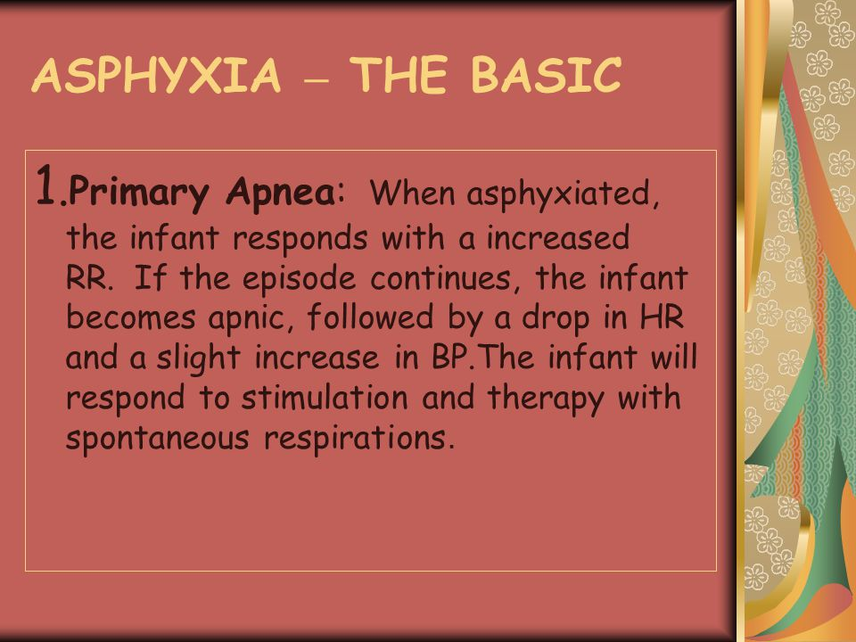 ASPHYXIA – THE BASIC