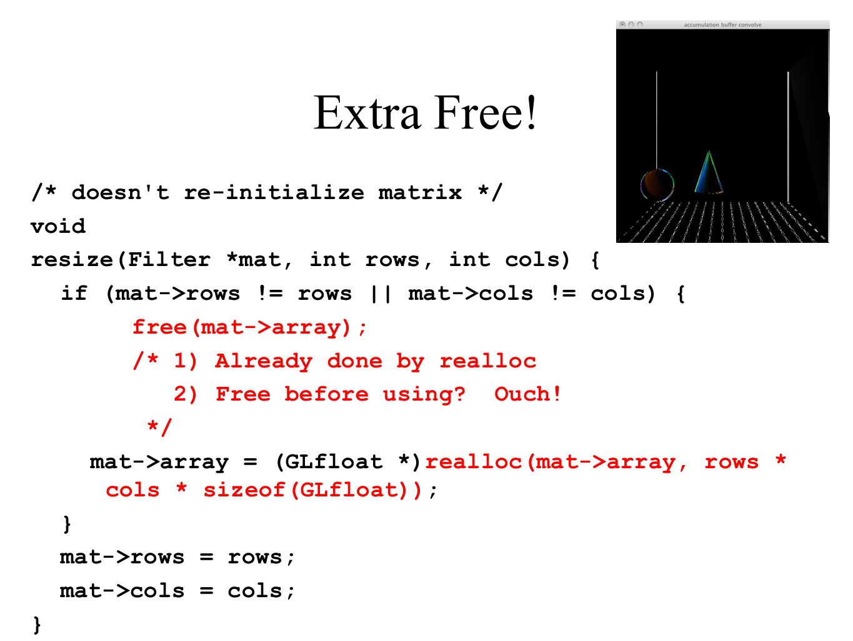 Extra Free!