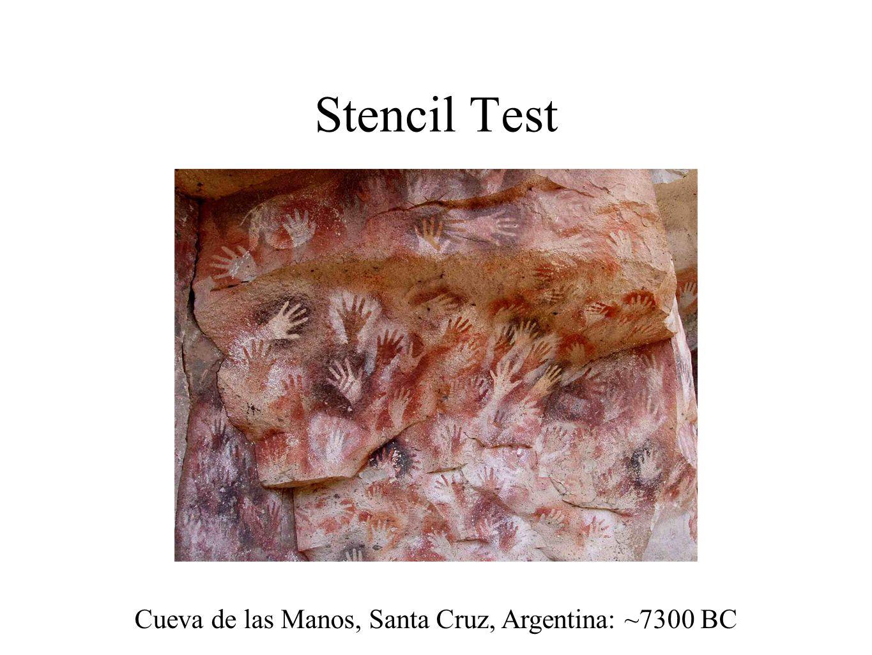 Cueva de las Manos, Santa Cruz, Argentina: ~7300 BC