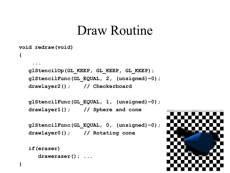 Draw Routine