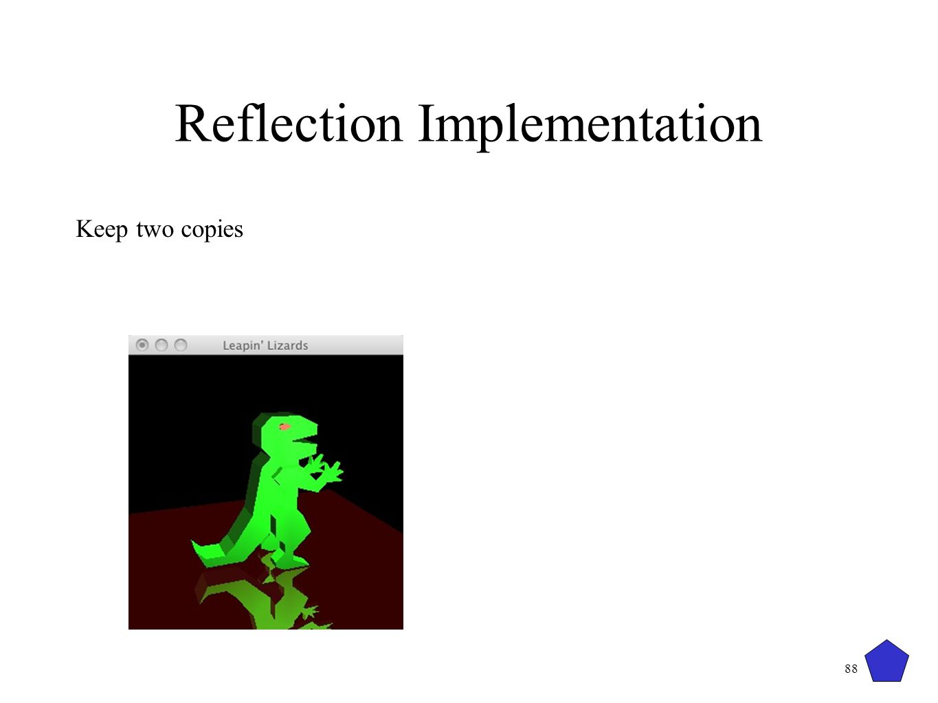 Reflection Implementation
