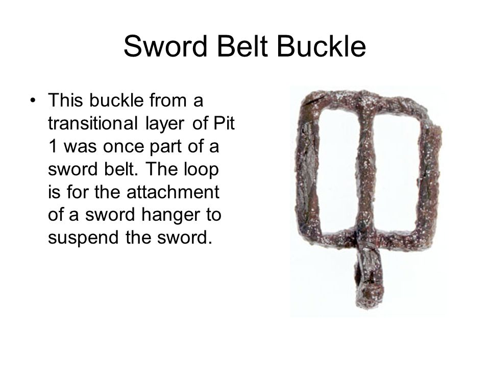 Sword Belt Buckle