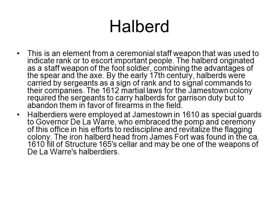 Halberd