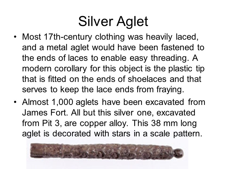 Silver Aglet