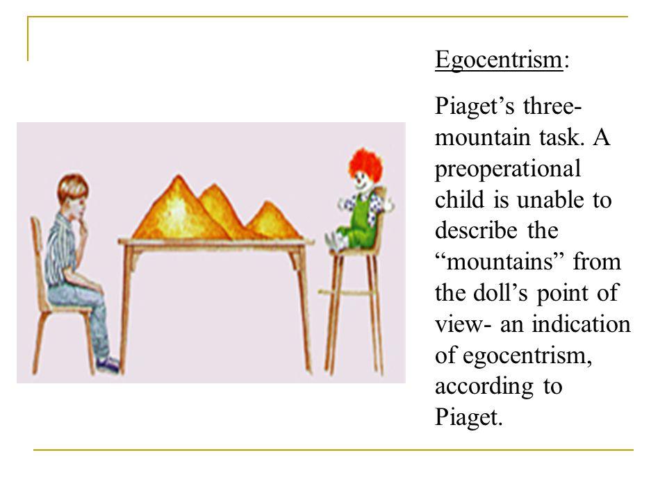 Egocentrism: