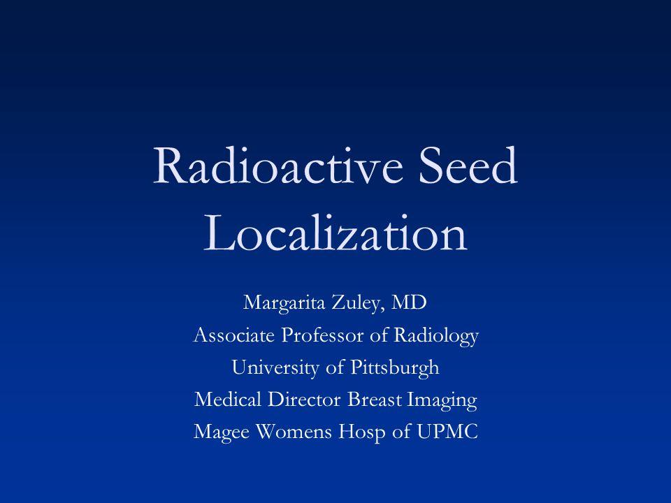 Radioactive Seed Localization