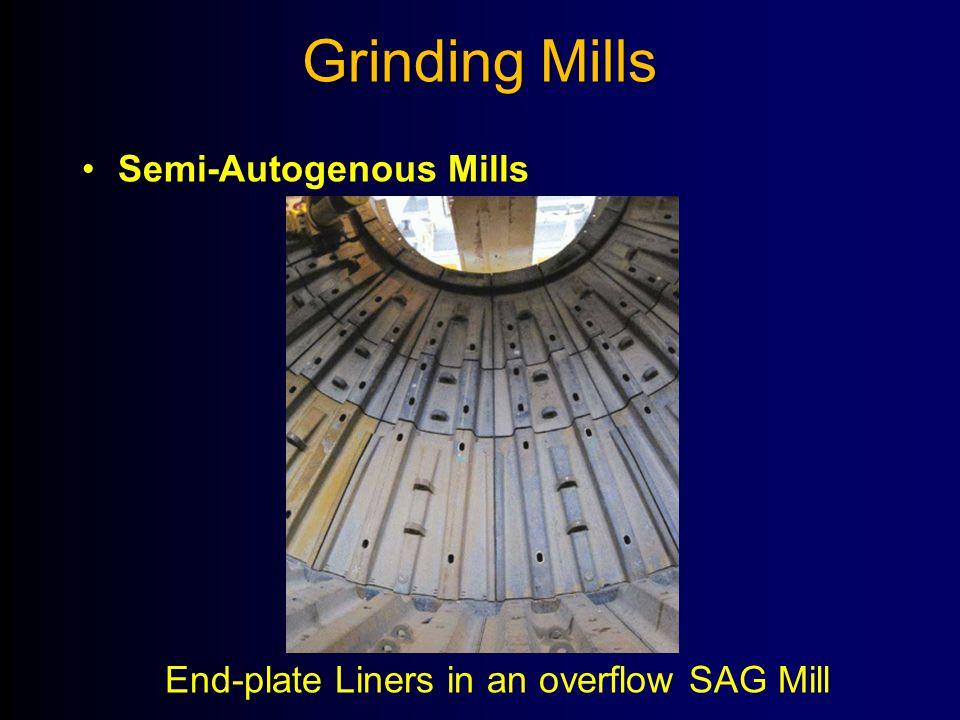 Grinding Mills Semi-Autogenous Mills