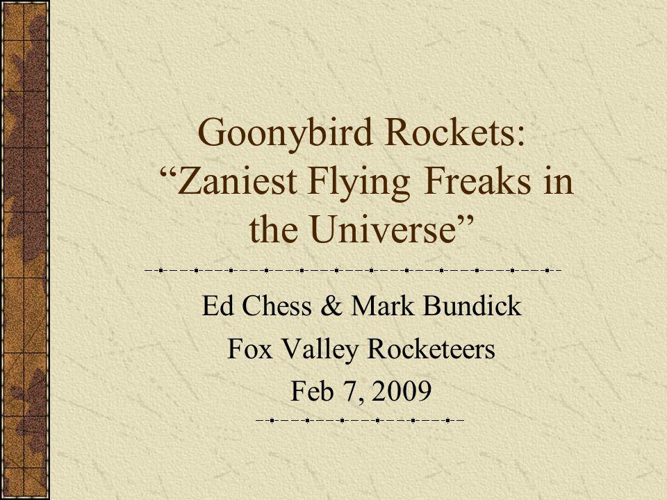 Goonybird Rockets: Zaniest Flying Freaks in the Universe