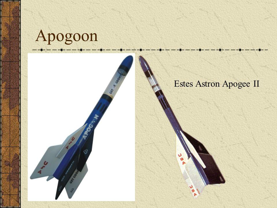 Apogoon Estes Astron Apogee II