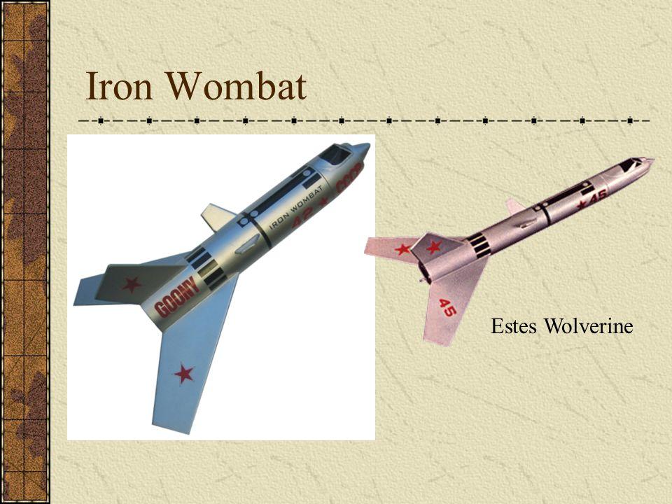 Iron Wombat Estes Wolverine