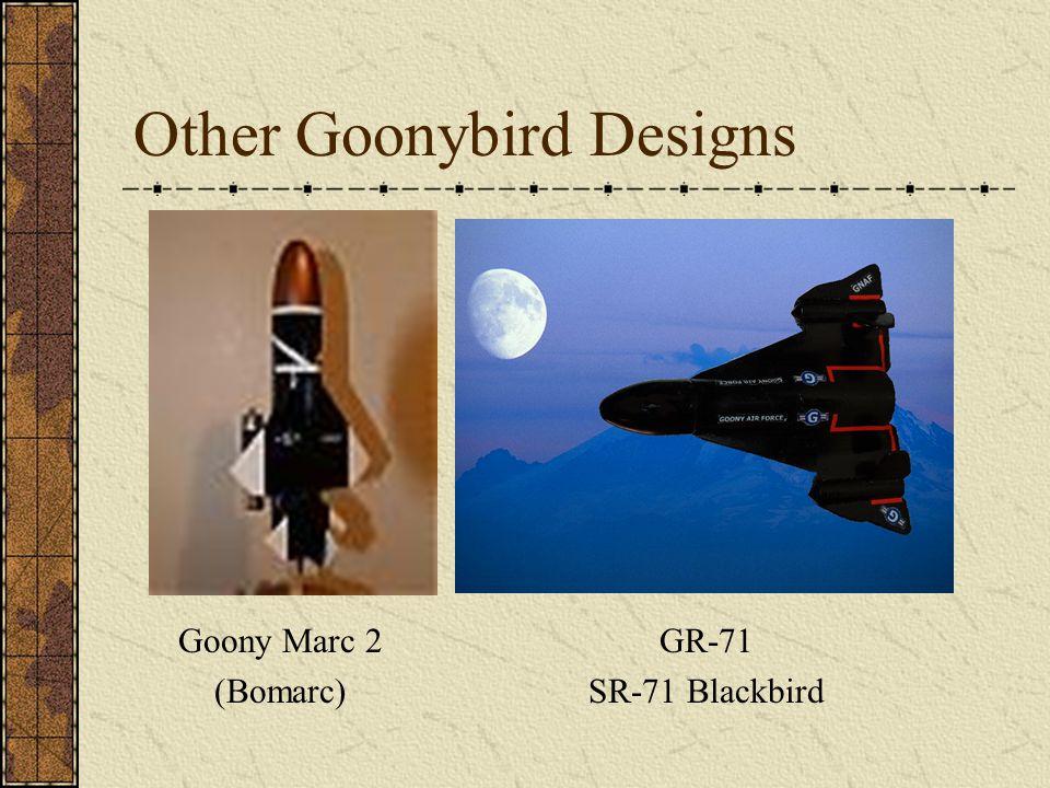 Other Goonybird Designs