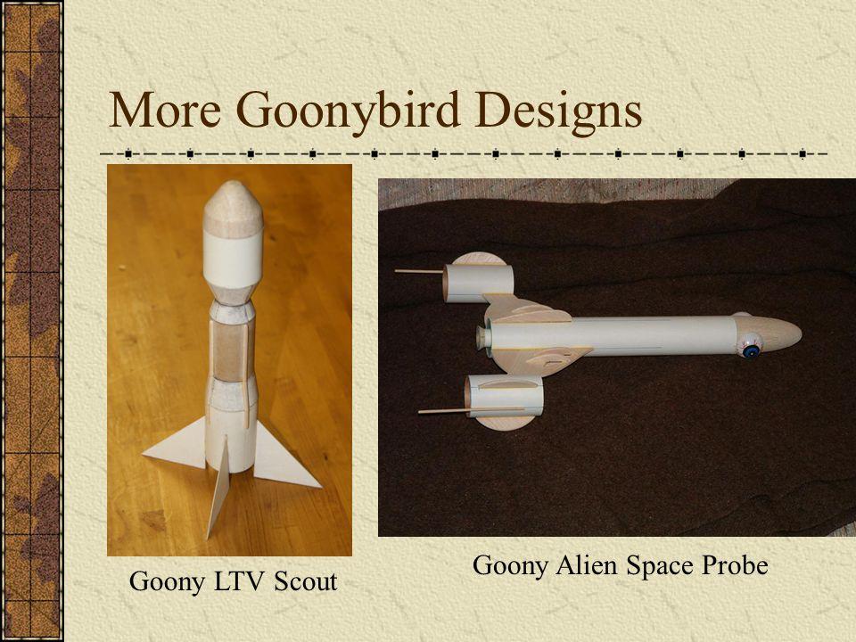 More Goonybird Designs