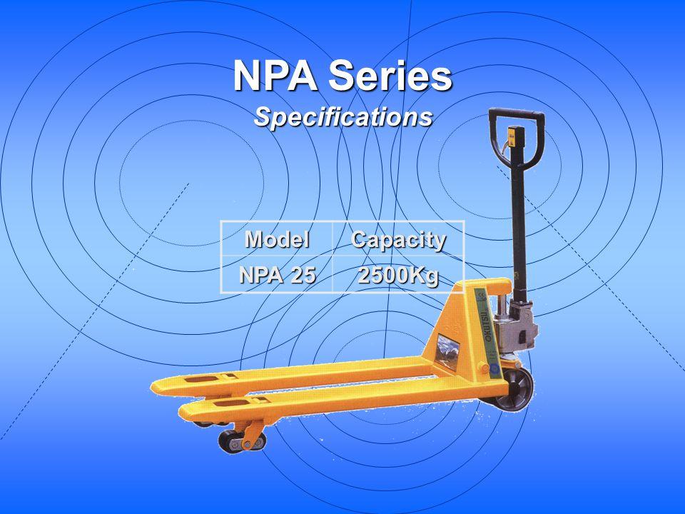 NPA Series Specifications