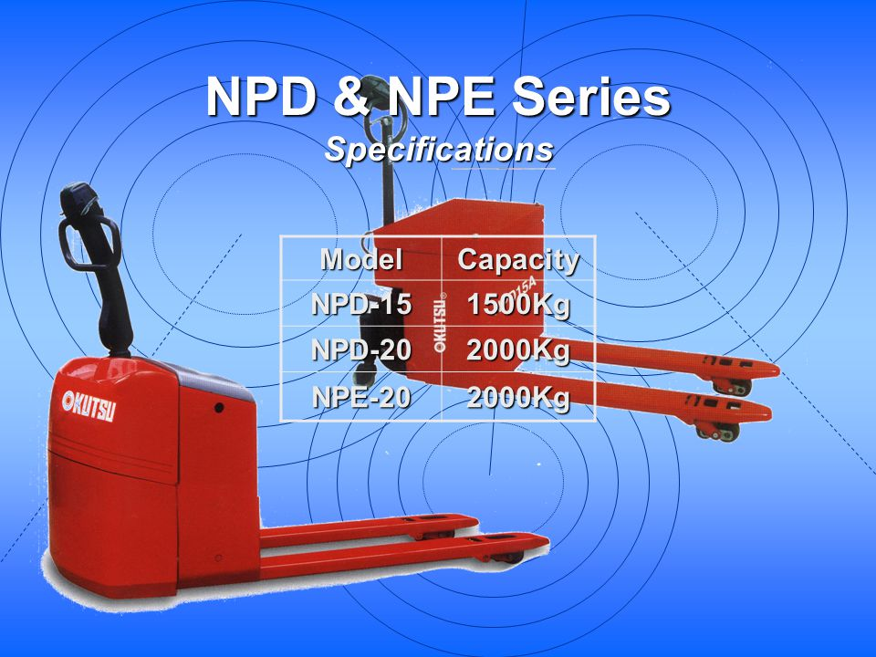NPD & NPE Series Specifications