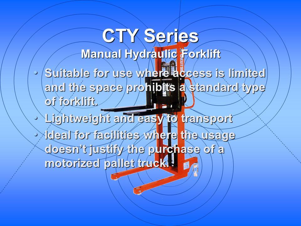 Manual Hydraulic Forklift