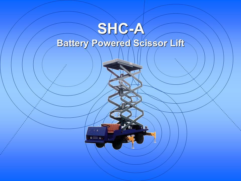 Battery Powered Scissor Lift