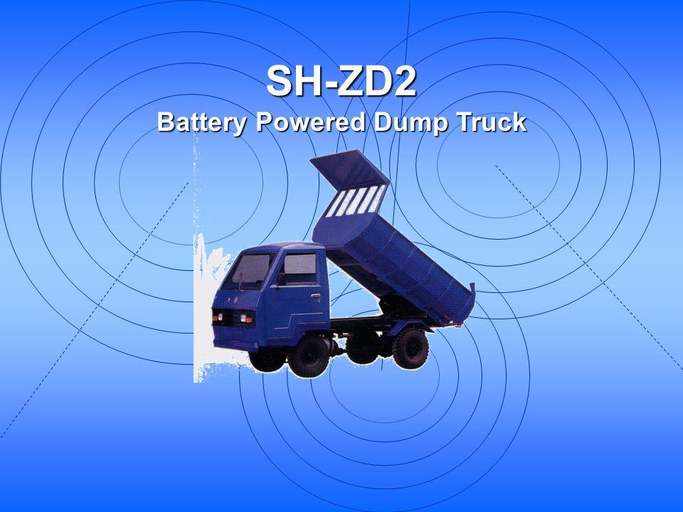 Battery Powered Dump Truck
