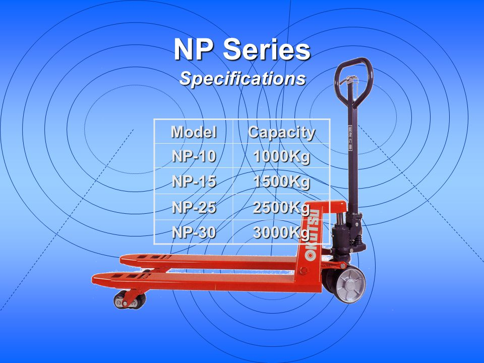NP Series Specifications