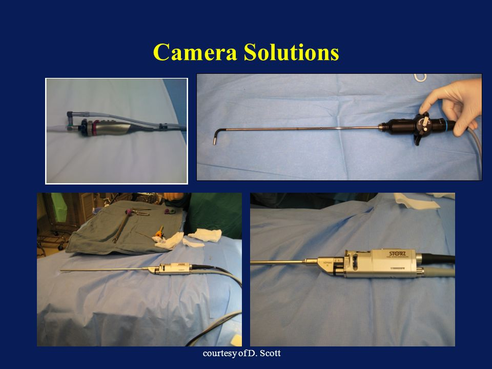 Camera Solutions courtesy of D. Scott