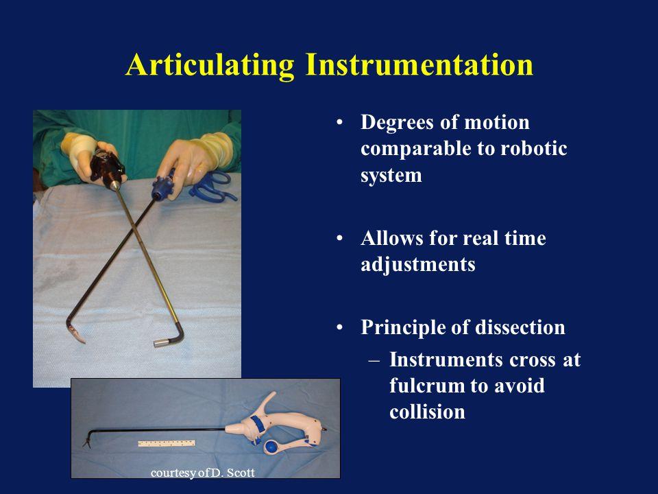 Articulating Instrumentation