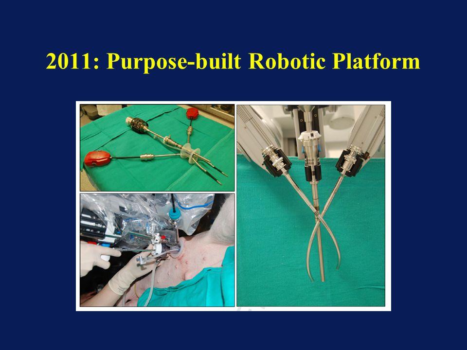 2011: Purpose-built Robotic Platform
