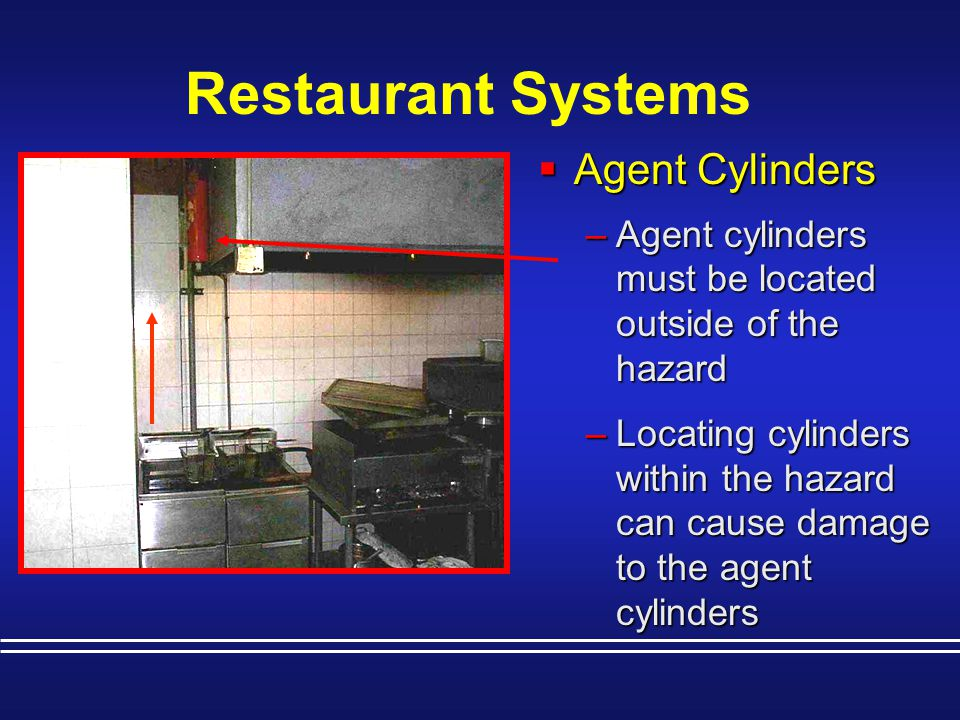 Restaurant Systems Agent Cylinders