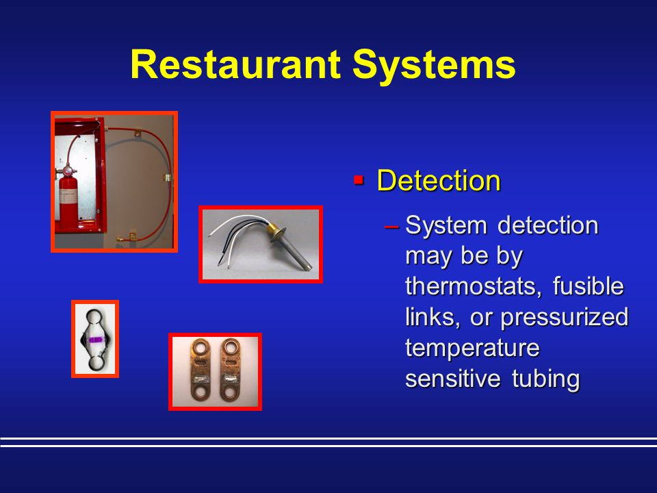 Restaurant Systems Detection