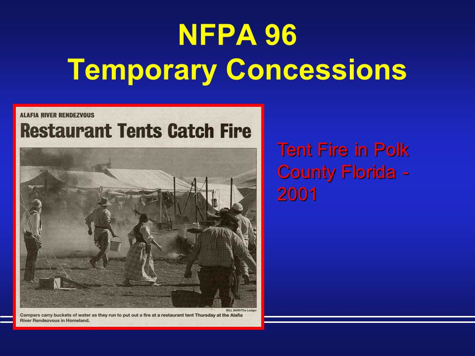 NFPA 96 Temporary Concessions