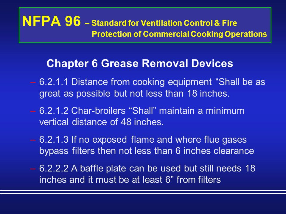 Chapter 6 Grease Removal Devices