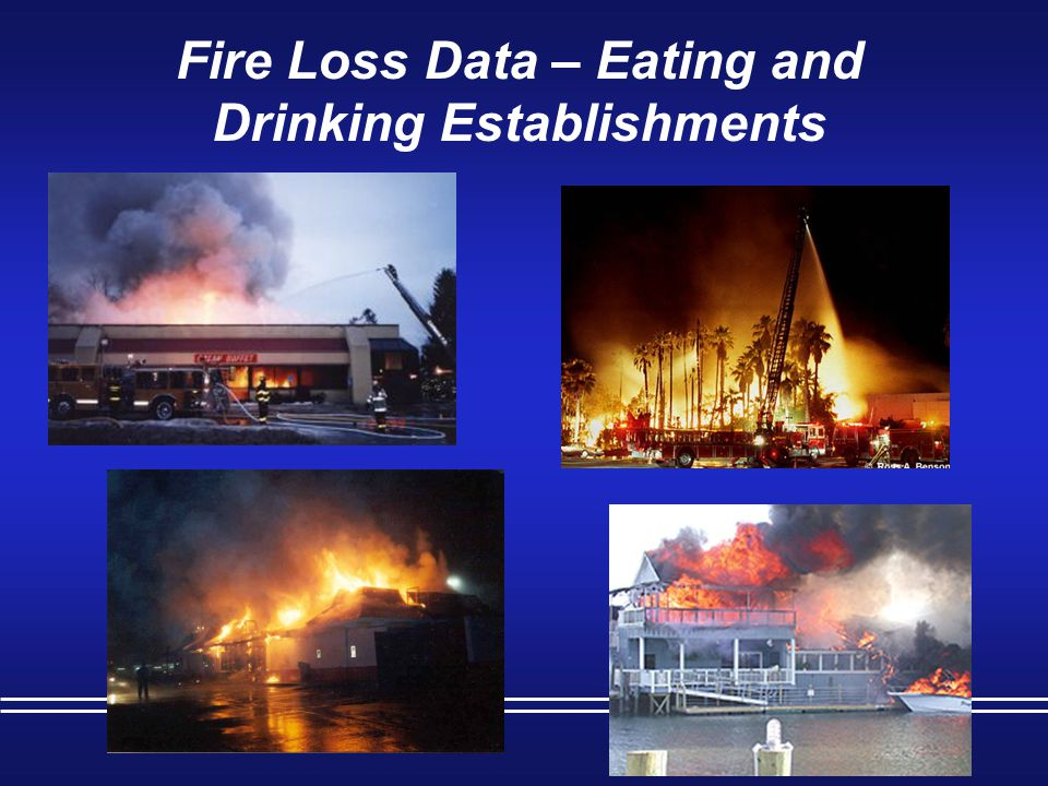 Fire Loss Data – Eating and Drinking Establishments