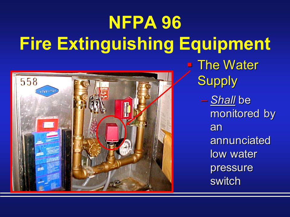 NFPA 96 Fire Extinguishing Equipment