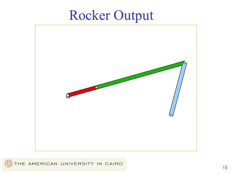 Rocker Output