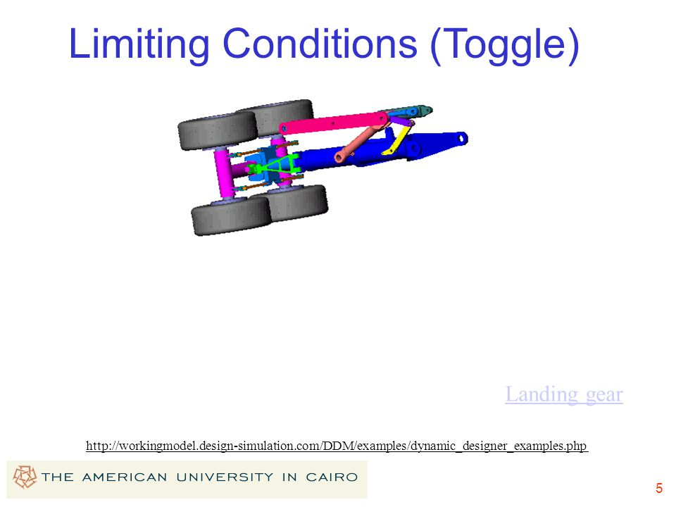 Limiting Conditions (Toggle)