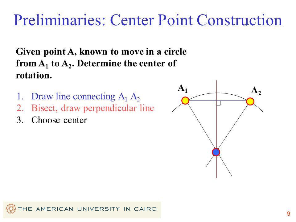 Preliminaries: Center Point Construction