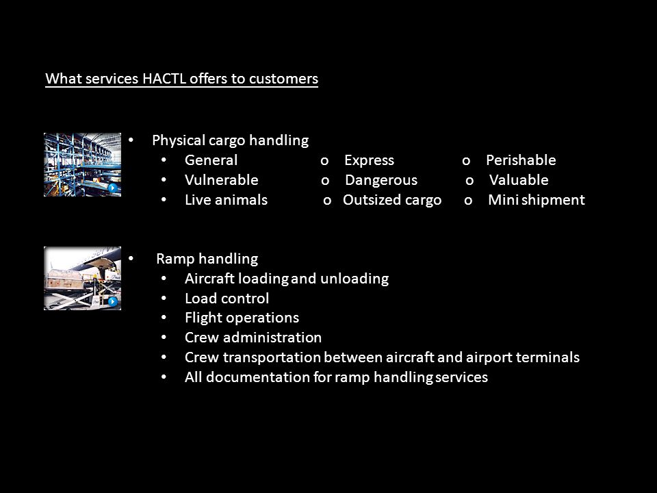 What services HACTL offers to customers