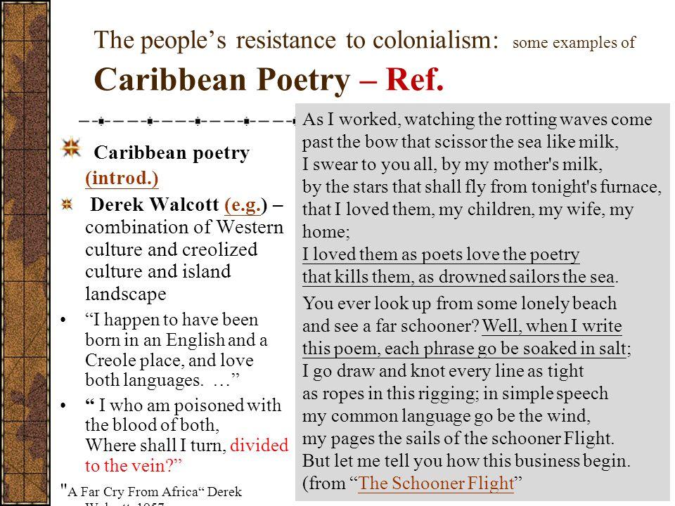 Caribbean poetry (introd.)