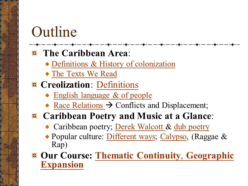 creolisation in the caribbean Creolization in anthropological theory and in mauritius caribbean basin and in the indian ocean creolization in anthropological theory and in mauritius 157.