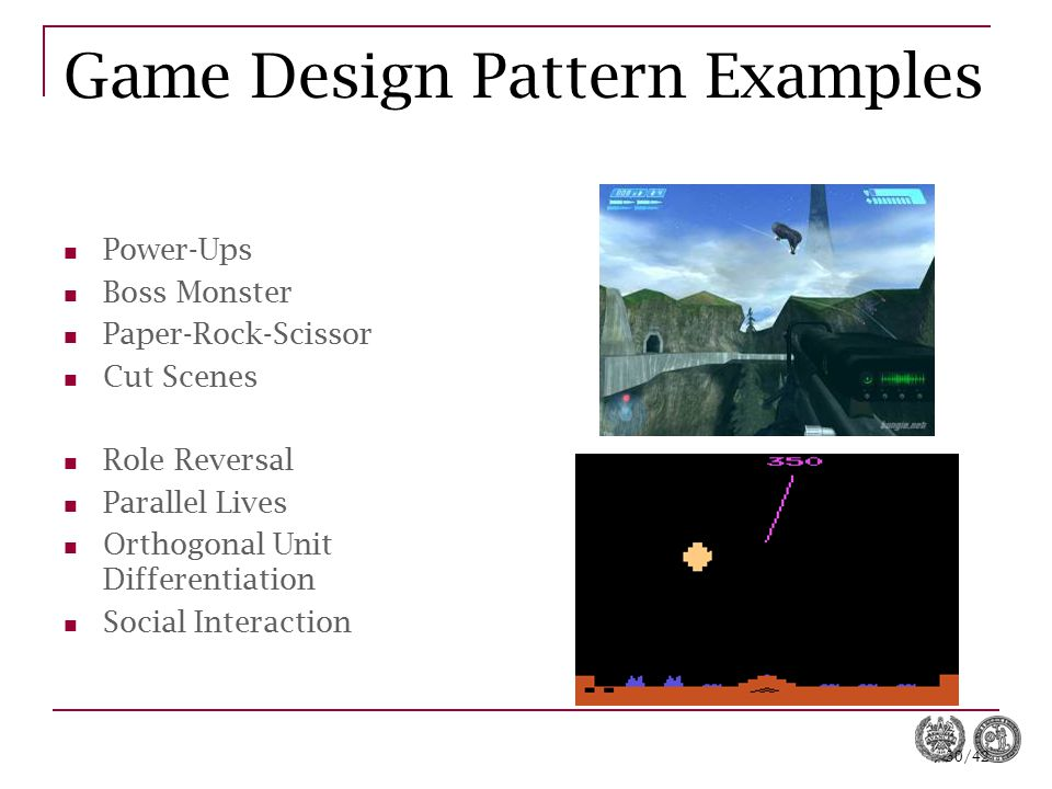 Game Design Pattern Examples