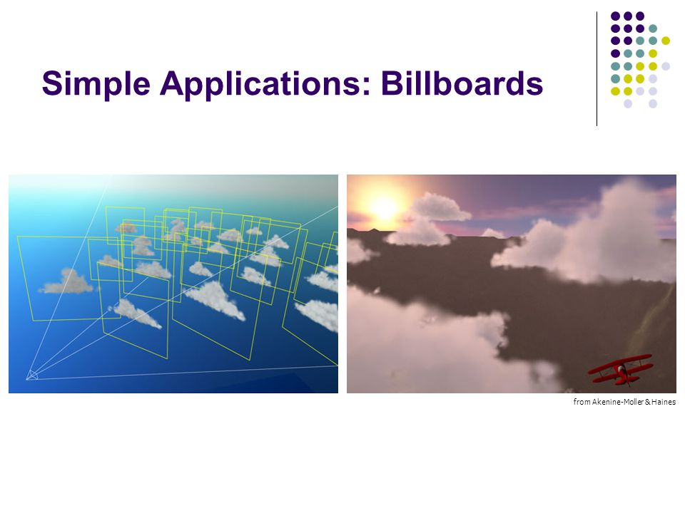 Simple Applications: Billboards